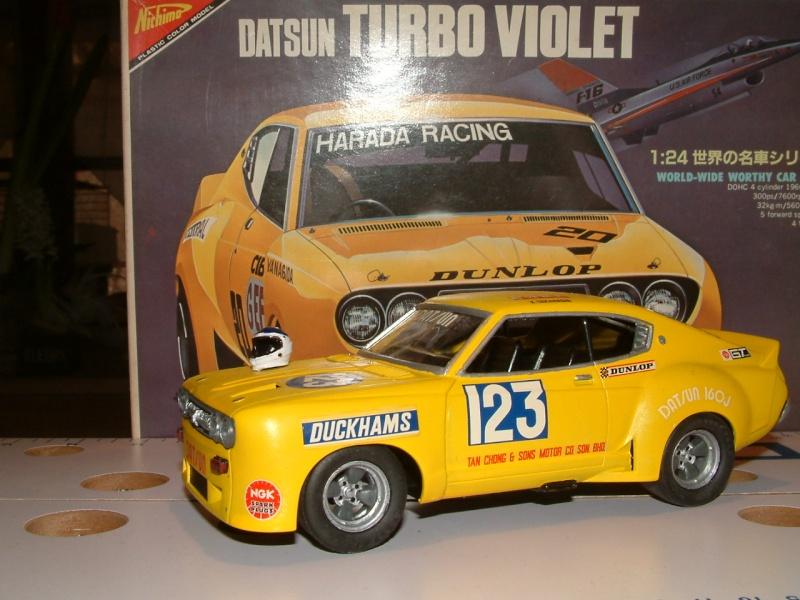 1/24e DATSUN VIOLET TURBO HARADA RACING Maquet14