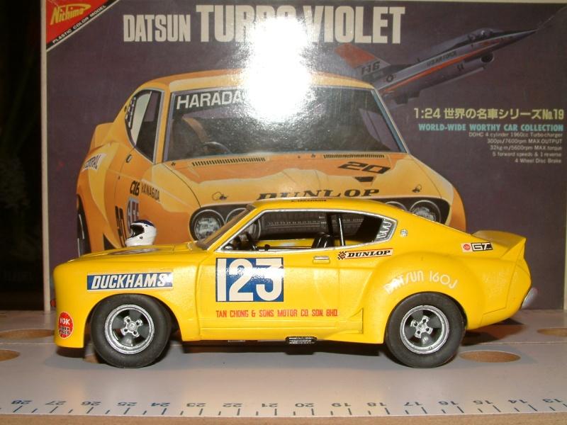 1/24e DATSUN VIOLET TURBO HARADA RACING Maquet15