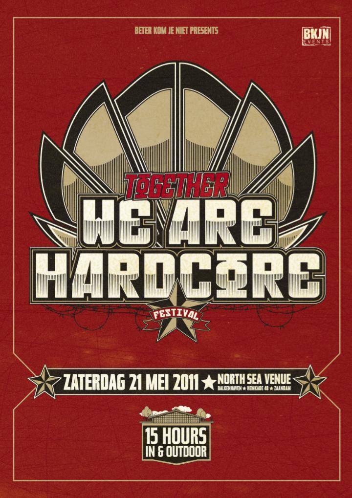 "[ BKJN ""TOGETHER WE ARE HARDCORE"" - 21 Mai 2011 - North Sea Venue - Zaandam - NL ] Togeth10"