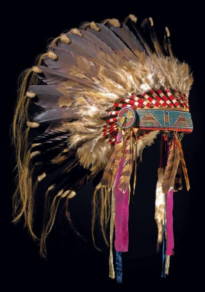 Crow Indian Coiffe10