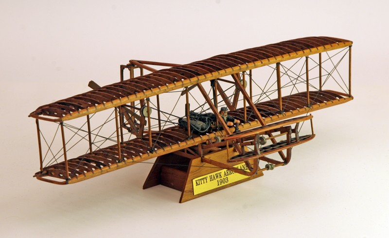 Wright Flyer (1903) de HMO Wright11