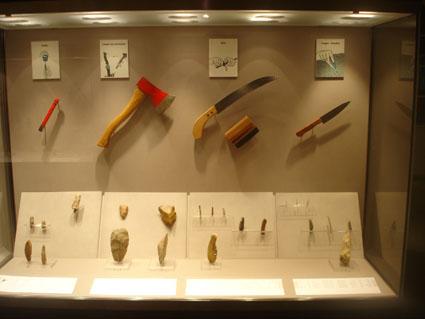 Musée de Préhistoire Libanaise Vitrin10