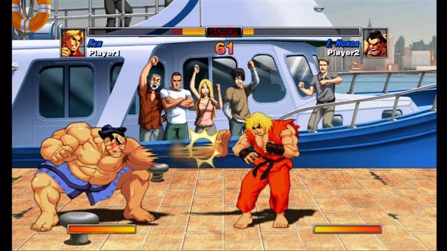 Super Street Fighter II Turbo HD Kenvsh11