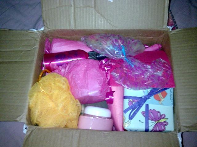 Il était une fois un colis emballé de papier cadeau princesse... Photo014