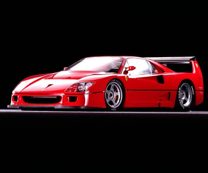[Présentation] Le design par Ferrari F40lm010
