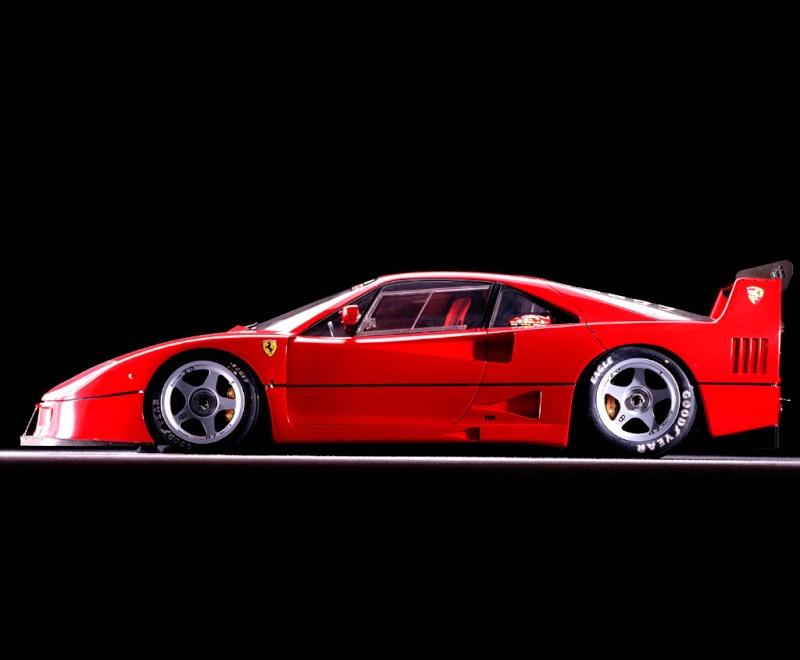 [Présentation] Le design par Ferrari F40lm011