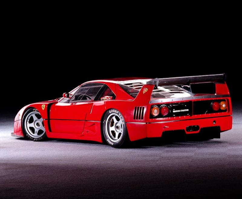 [Présentation] Le design par Ferrari F40lm012