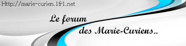 Le forum des élèves du lycée Marie Curie