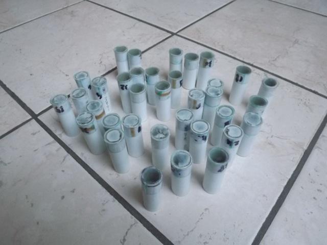 """Cartouches de pompe factices """"12 GA Blue"""" Dscf3762"""