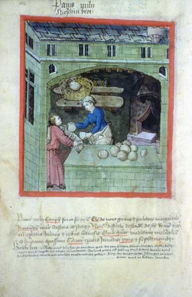 représentation de boulanger / pain / four / vendeurs de pains 05110