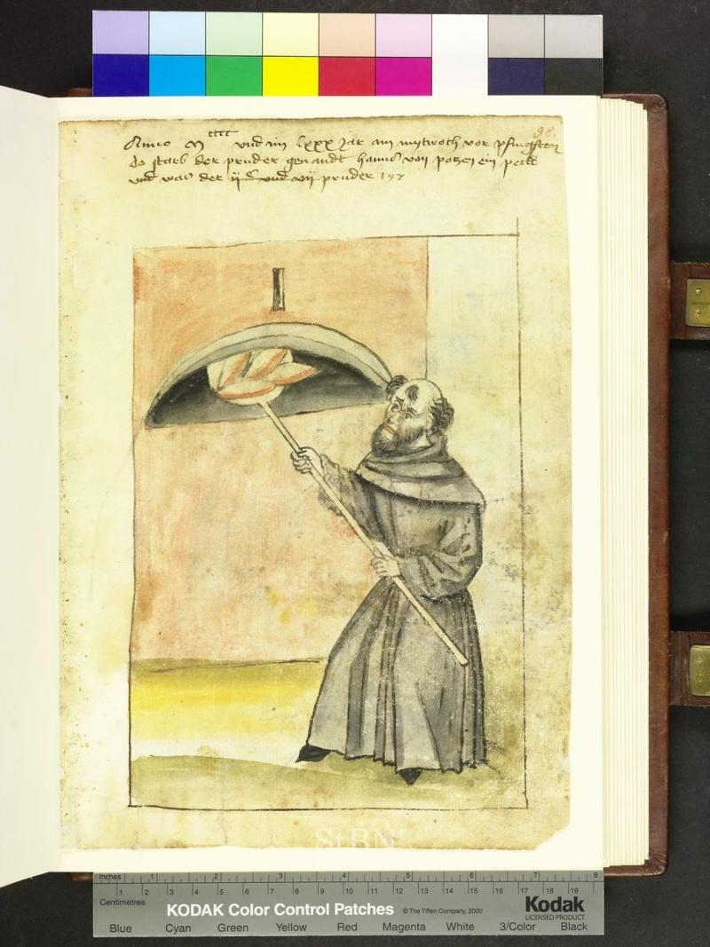 représentation de boulanger / pain / four / vendeurs de pains Folio_15