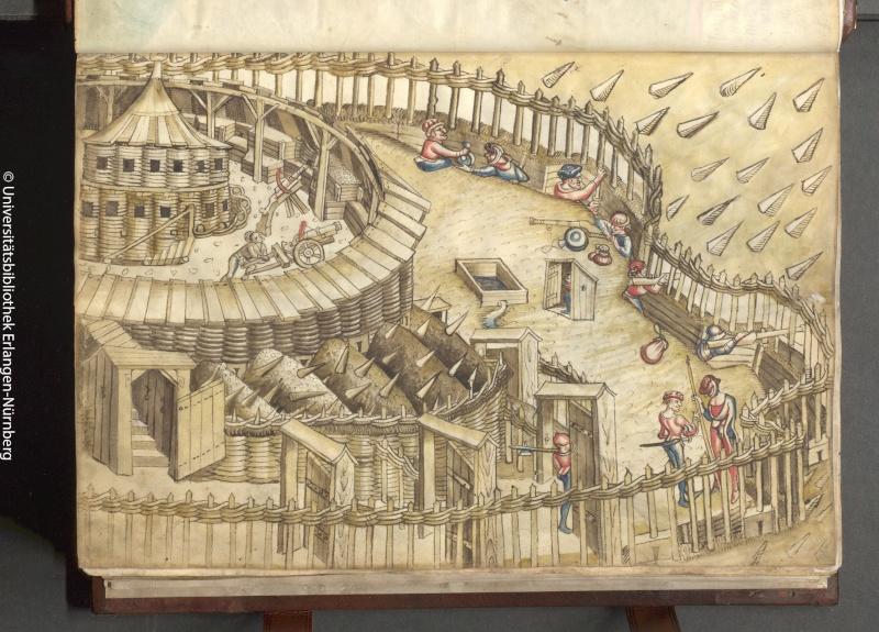 manuscrit de guerre ? Ludwig von Eyb 1500 Stream10