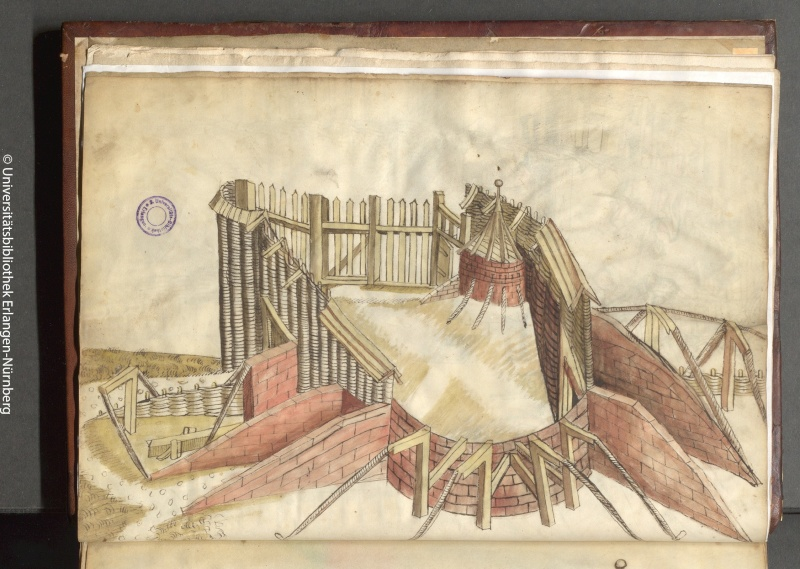 manuscrit de guerre ? Ludwig von Eyb 1500 Stream11