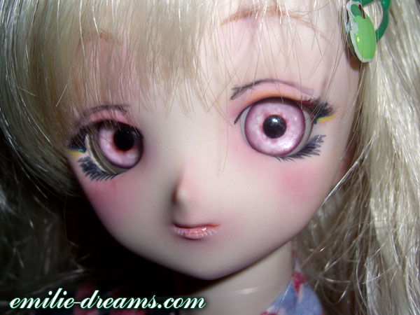 Mon premier make-up sur Mina (dollfie dream) Make-u12