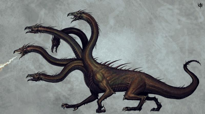 [WHB / EN] Projet pour le Golden Demon 2009 Hydra11