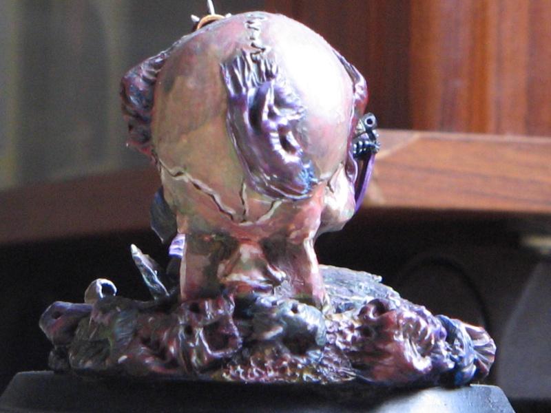 """Tutoriel Sculpture : Sculpter un """"visage démoniaque"""". Img_3024"""