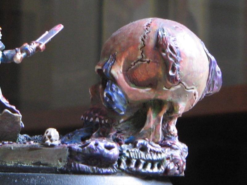"""Tutoriel Sculpture : Sculpter un """"visage démoniaque"""". Img_3025"""