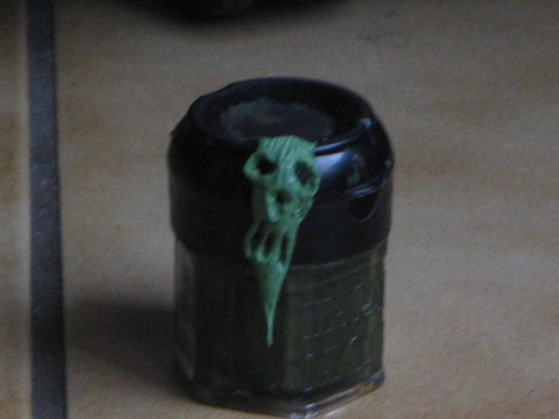 """Tutoriel Sculpture : Sculpter un """"visage démoniaque"""". Img_3030"""
