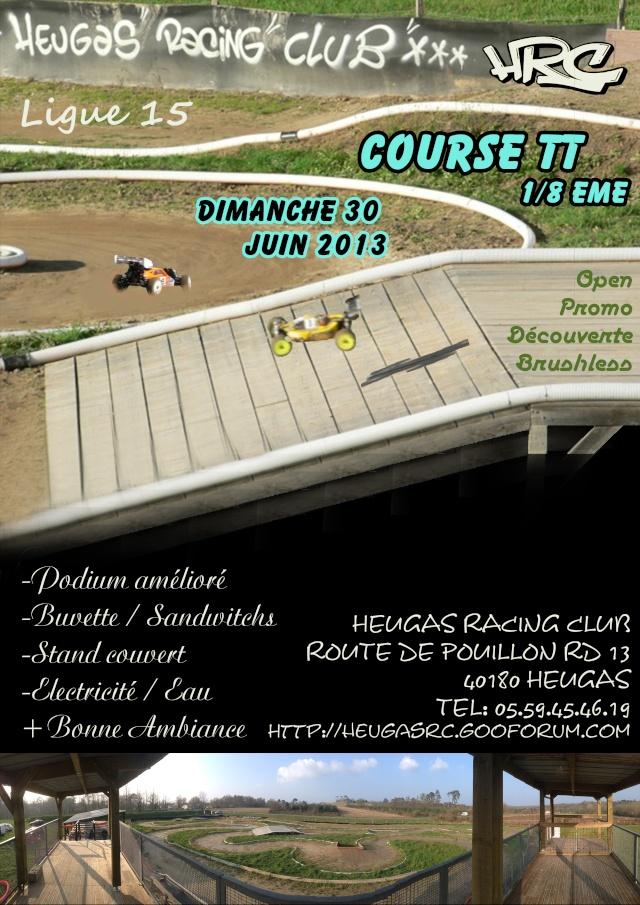 Course TT 1/8 me th + bls 30 juin à HEUGAS 95757611