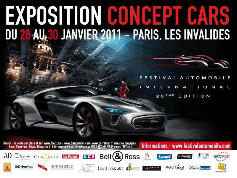 [EXPOSITION] Festival automobile international 2011 Affich10