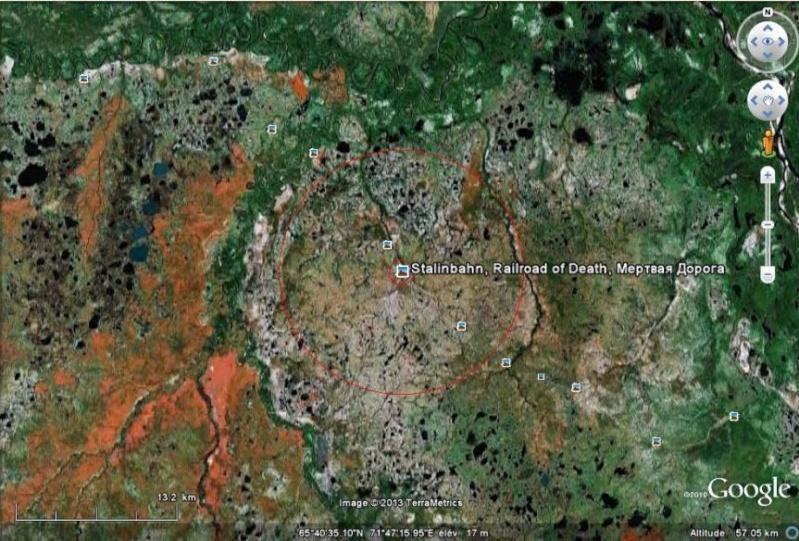 Bagnes et Camps d'internement / déportation découverts avec Google Earth - Page 3 Voie5010