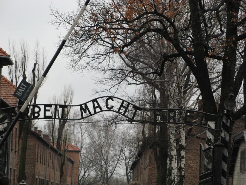 Why we fight: Auschwitz-Birkenau Voyage20