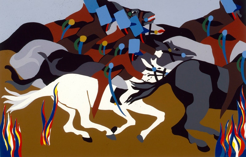 Jacob Lawrence  A786