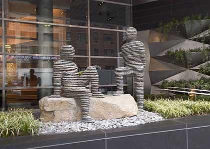 Une sculpture / un sculpteur en passant Aa155