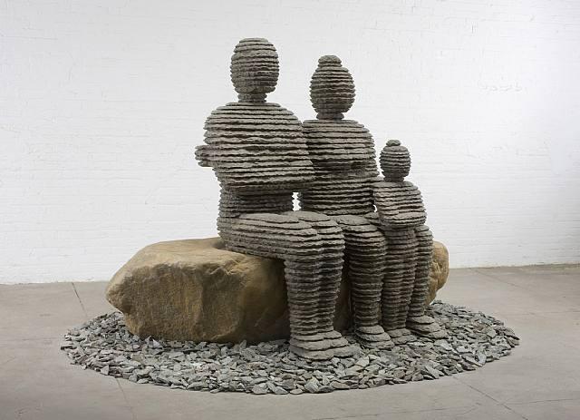 Une sculpture / un sculpteur en passant Aa156