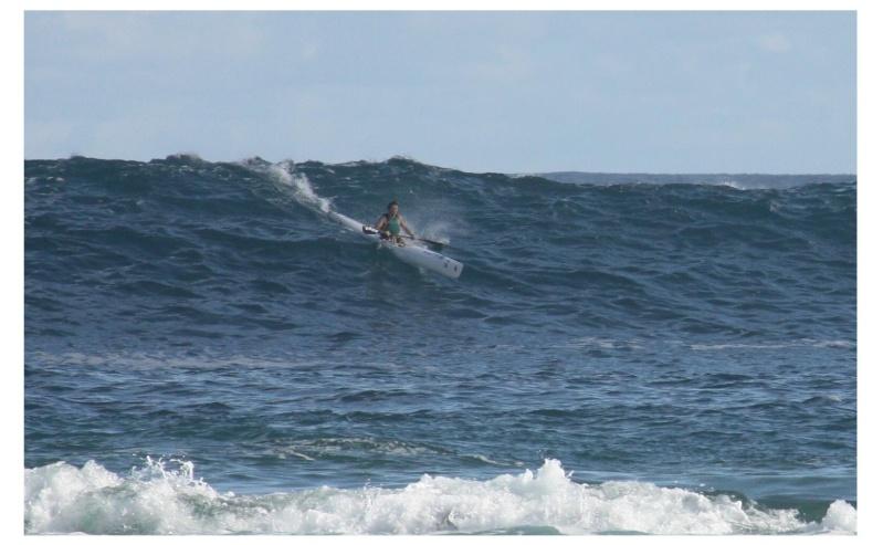 Gwada surf ski Steph10