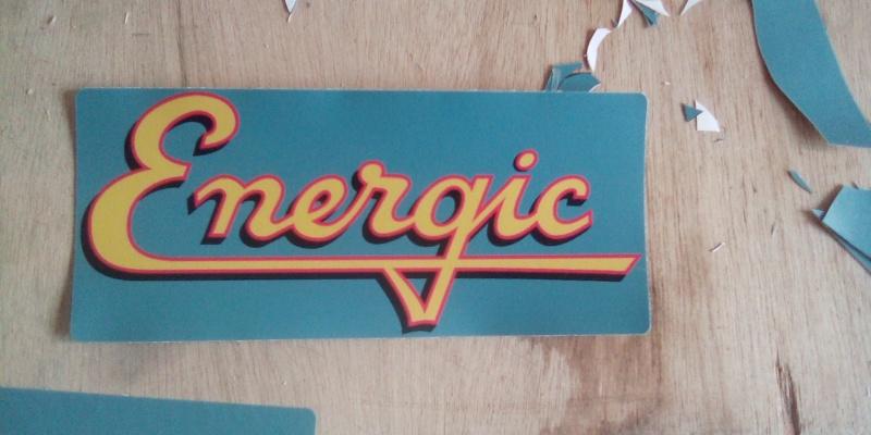 energic - Autocollans pour tracteurs et motoculteurs Energic 75302610