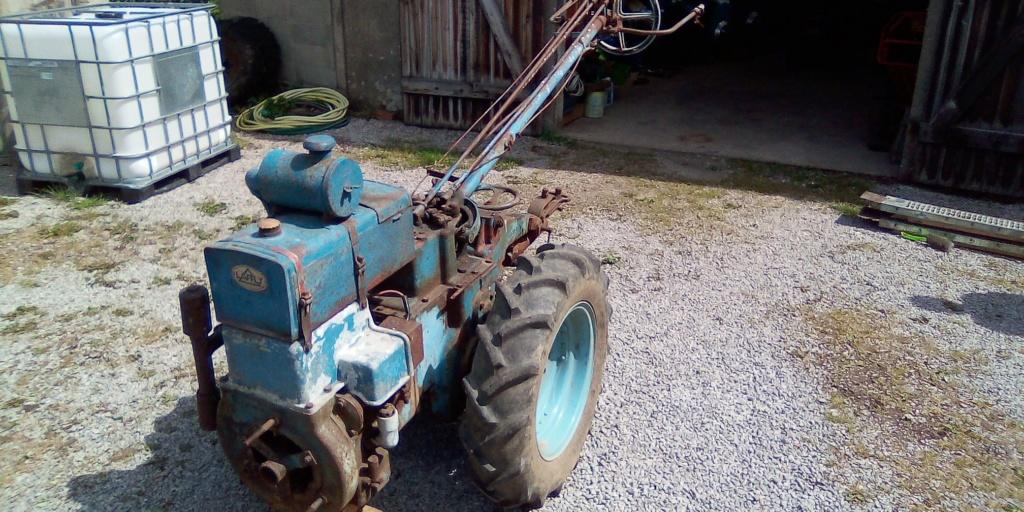 moteur - Renovation Laffly M5 . 98347010
