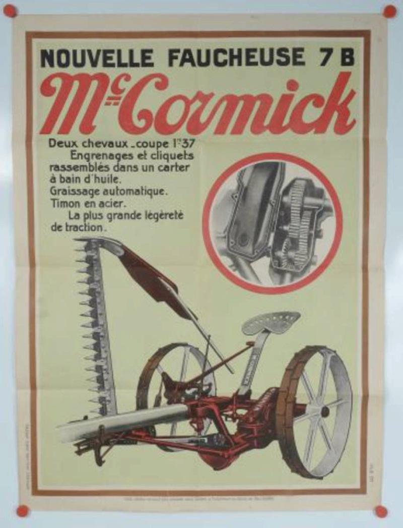 motoculteur - Faucheuse Mc-Cormick B7 et motoculteur. A2546-11