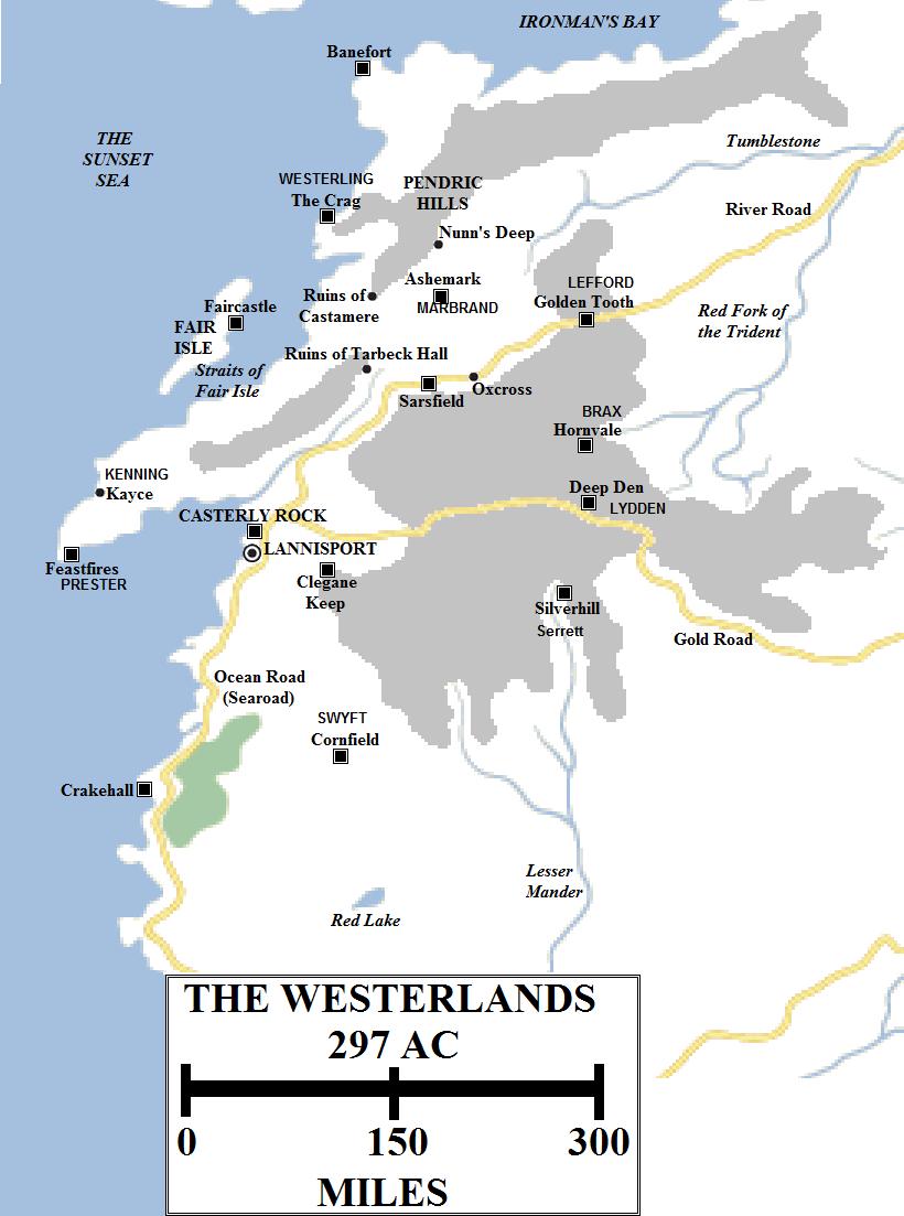 Carte de la région Wester10