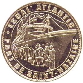 Arthus-Bertrand revers Trésors de France = 19 44_esc10
