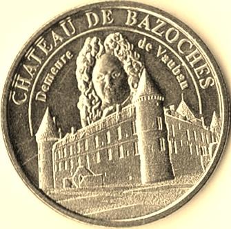 Médailles et Patrimoine = 4 Bazoch10