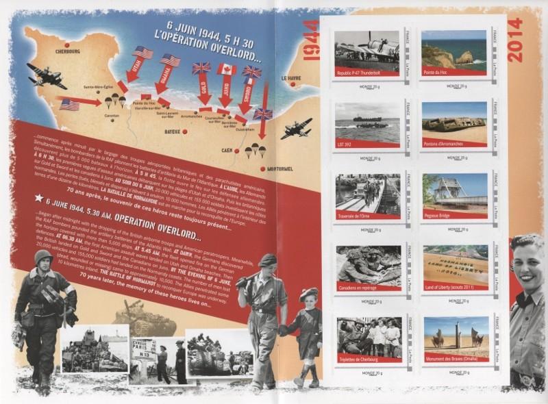 00 - La Poste - 70° anniversaire 6.6.1944 en 2014 Debarq10