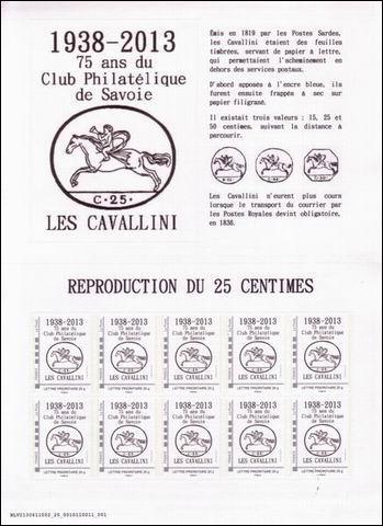 73 - Chambéry - Club Philatélique de Savoie Savoie11