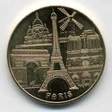 Paris (75000) Ville de Paris Générique Medail10