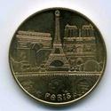 Paris (75000) Ville de Paris Générique Medail12