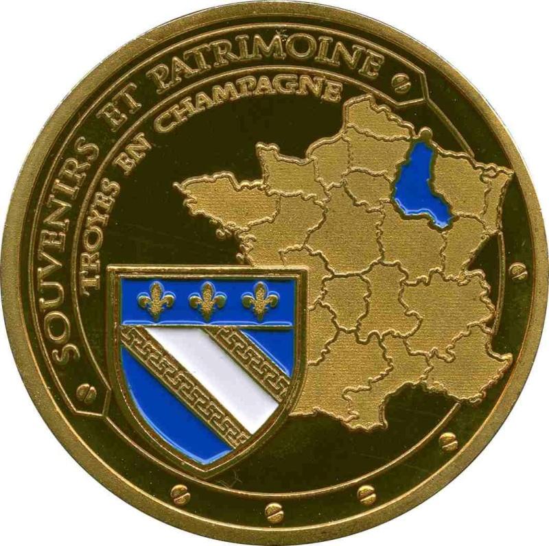 Souvenirs et Patrimoine 34mm =  73 Troye10
