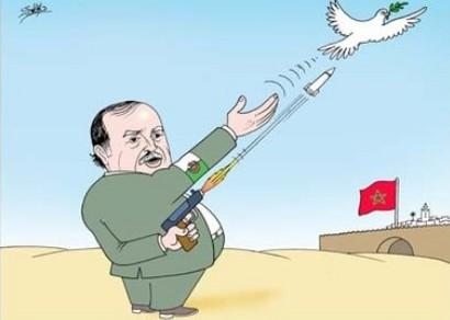 """الحرب الباردة """" تستعر """" بين المغرب والجزائ Boutef10"""
