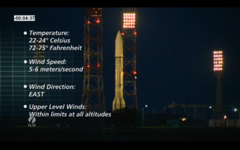 Lancement Proton-M / Eutelsat 3D (14.05.13) Screen12