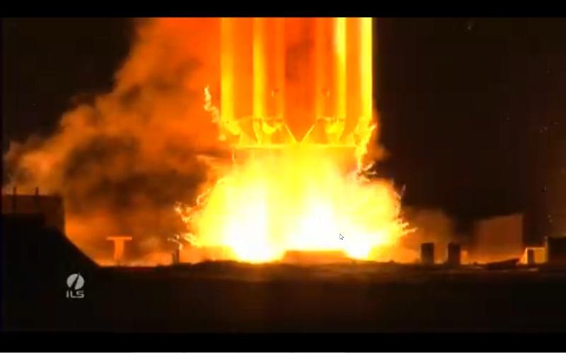 Lancement Proton-M / Eutelsat 3D (14.05.13) Screen14