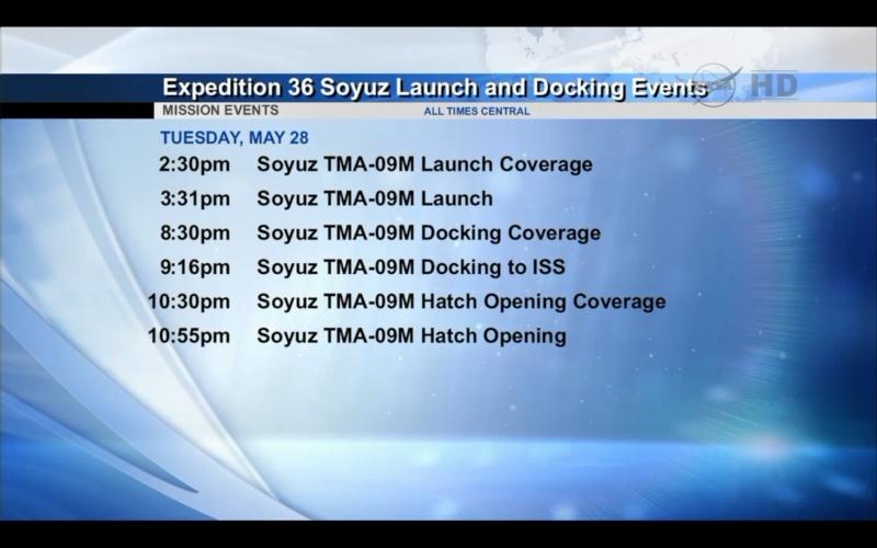 Lancement, mission & retour sur terre Soyouz TMA-09M  Screen17
