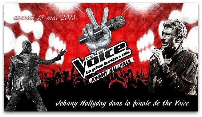 """Johnny Hallyday ne sera pas dans la finale de """"The Voice"""" samedi 18 mai. Jkouhy10"""