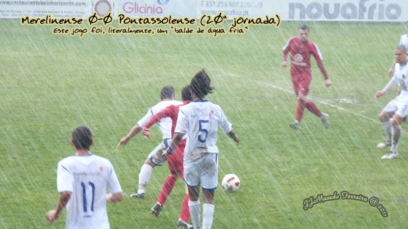 MERELINENSE 0-0 PONTASSOLENSE (20ª jornada) Balde10