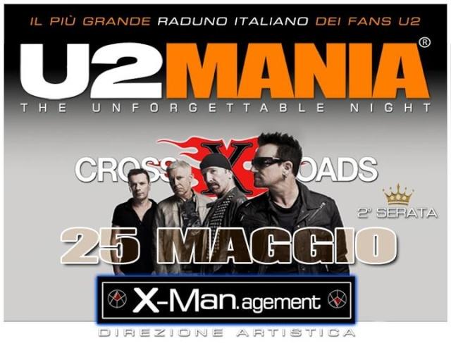 Sabato 25 Maggio 2° appuntamento con U2MANIA a Roma U210