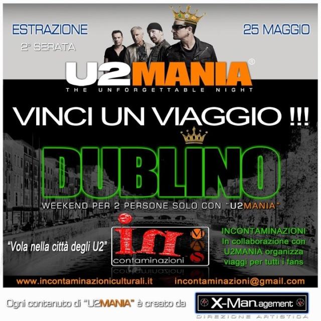 Sabato 25 Maggio 2° appuntamento con U2MANIA a Roma U2dubl10