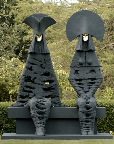 Une sculpture / un sculpteur en passant Philip11